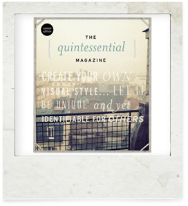 THE quintessential MAGAZINE Is Now Online!